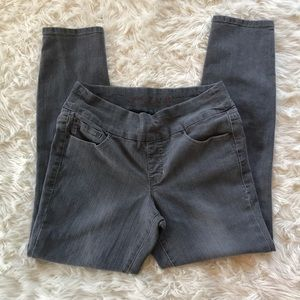 Jag Jeans gray pull on high rise skinny size 12